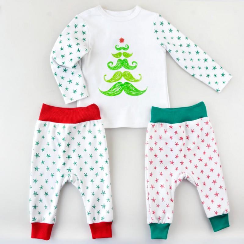 Christmas Collection - набір: реглан, 2 штанів