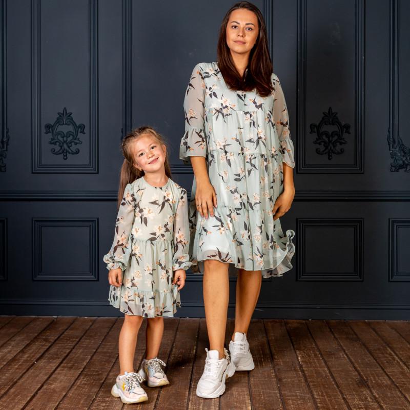 Family Look for mom&daughter