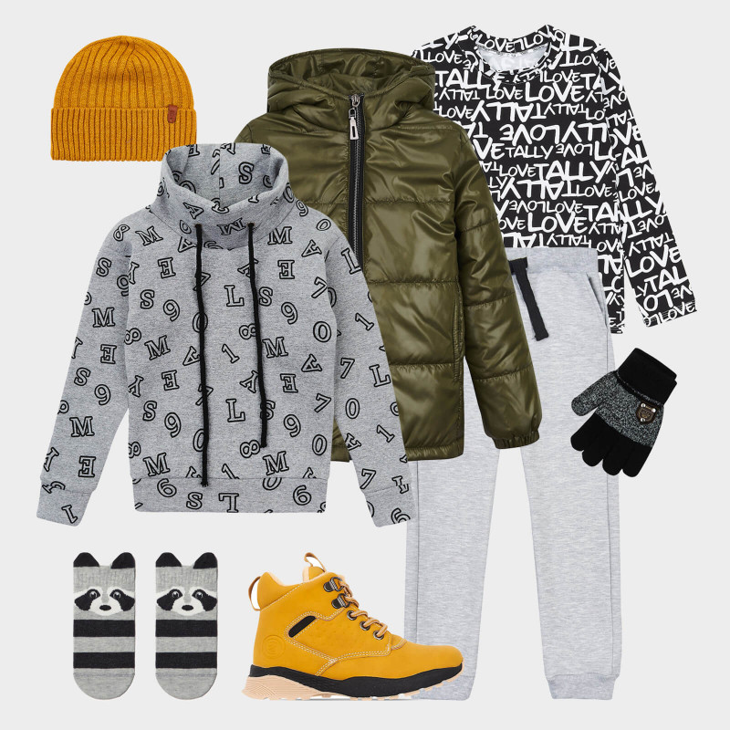 Winter look for boy