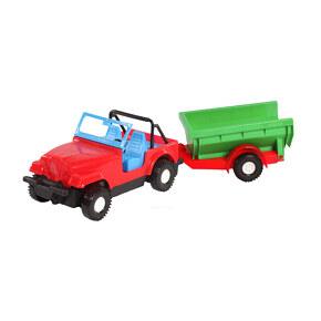 Купить Машинка Wader 39007-4, md60454, Garnamama