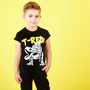 T-shirt Garnamama Happy Monster Neon