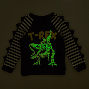 Sweatshirt Garnamama Happy Monster Neon