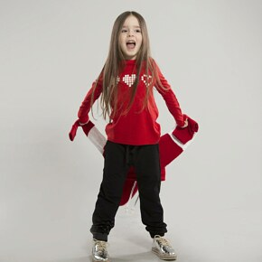 Raglan O! kids clothing  PIXEL